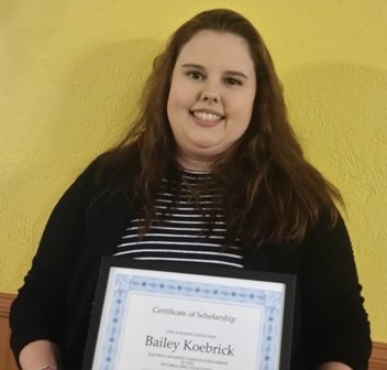 Bailey Koebrick 2018 Scholarship